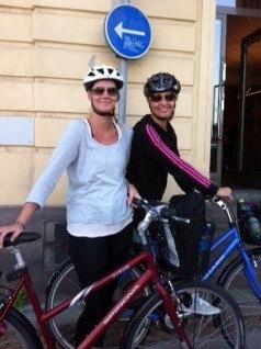 Aktör Edutainment inleder hösten 2012 med att cykla på konferens!