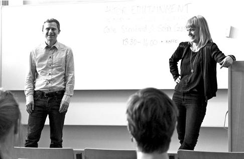 Kroppsspråksföredrag på Stockholms universitet