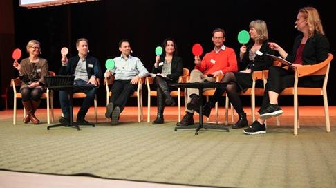 Stor konferens med KI i storslagna Aula Medica