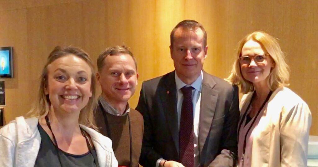 Klimatteater på konferensen Energi 2019.
